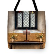 14th Century Chapel Tote Bag by Adrian Evans