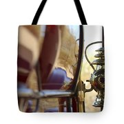 1903 Pope Hartford Model B 1 Cylinder 10 Hp 4 Passenger Dos Y Dos Chain Drive Lamp Tote Bag by Jill Reger