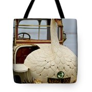 1910 Brooke Swan Car Tote Bag by Jill Reger