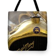 1913 Turcat-mery Mj Boulogne Torpedo Hood Ornament And Emblem Tote Bag by Jill Reger