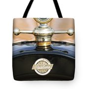 1922 Studebaker Touring Hood Ornament Tote Bag by Jill Reger