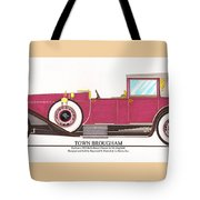 1923 Rolls Royce By Raymond H Dietrich Tote Bag by Jack Pumphrey