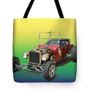 1923  Ford T BUCKET  Tote Bag by Jack Pumphrey