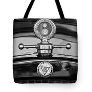 1928 Dodge Brothers Hood Ornament - Moto Meter Tote Bag by Jill Reger
