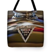 1929 Hudson Cabriolet Hood Ornament Tote Bag by Jill Reger