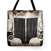 1933 Packard 12 Convertible Coupe Classic Car Tote Bag by Jill Reger