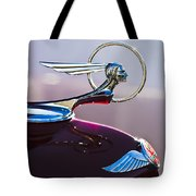 1933 Pontiac Hood Ornament Tote Bag by Jill Reger