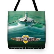 1934 Dodge Hood Ornament Emblem Tote Bag by Jill Reger