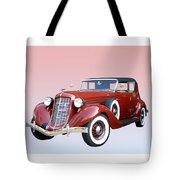 1935 Auburn 8 Phaeton 851 Tote Bag by Jack Pumphrey
