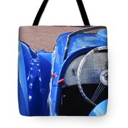 1937 Peugeot 402 Darl'mat Legere Speacial Sport Roadster Recreation Steering Wheel Emblem Tote Bag by Jill Reger
