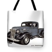 1938 Chevy Pickup Tote Bag by Jack Pumphrey