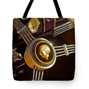 1939 Ford Standard Woody Steering Wheel Tote Bag by Jill Reger