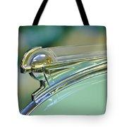 1940 Oldsmobile Hood Ornament Tote Bag by Jill Reger