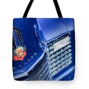 1941 Cadillac Emblem Tote Bag by Jill Reger