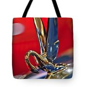 1948 Packard Hood Ornament Tote Bag by Jill Reger
