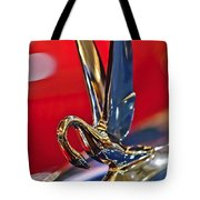 1948 Packard Hood Ornament Tote Bag by Jill Reger