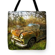 1949 Ford Tote Bag by Debra and Dave Vanderlaan