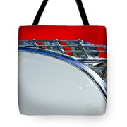 1950 Plymouth Hood Ornament 3 Tote Bag by Jill Reger