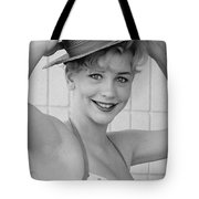 1950s Pinup Tote Bag by Chuck Staley