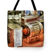 1950's - The Greasy Spoon Tote Bag by Mike Savad