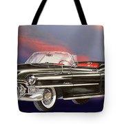 1953  Cadillac El Dorardo Convertible Tote Bag by Jack Pumphrey