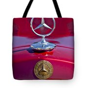 1953 Mercedes Benz Hood Ornament Tote Bag by Jill Reger