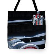 1954 International Harvester R140 Woody Grille Emblem Tote Bag by Jill Reger