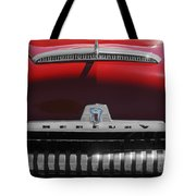 1954 Mercury Monterey Hood Ornament Tote Bag by Jill Reger