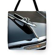 1955 DeSoto Hood Ornament Tote Bag by Jill Reger