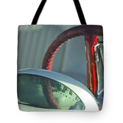 1955 Ford Thunderbird Steering Wheel Tote Bag by Jill Reger