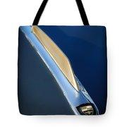 1955 Studebaker President Hood Emblem Tote Bag by Jill Reger