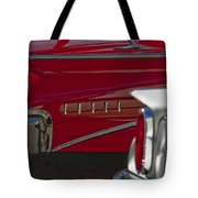 1960 Edsel Taillight Tote Bag by Jill Reger