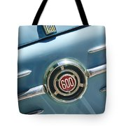 1960 Fiat 600 Jolly Emblem Tote Bag by Jill Reger