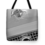 1960 Nash Metropolitan Hood Ornament Tote Bag by Jill Reger