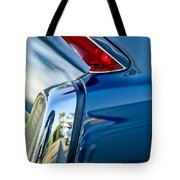 1962 Cadillac Deville Taillight Tote Bag by Jill Reger