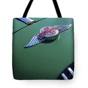 1964 Morgan 44 Hood Ornament Tote Bag by Jill Reger