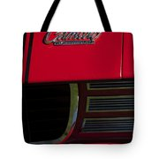 1969 Chevrolet Camaro Rally Sport Emblem Tote Bag by Jill Reger