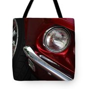1969 Ford Mustang Mach 1 Front Tote Bag by Jill Reger