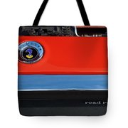 1972 Plymouth Road Runner Hood Emblem Tote Bag by Jill Reger