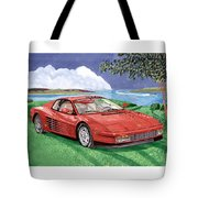 1987 Ferrari Testarosa Tote Bag by Jack Pumphrey