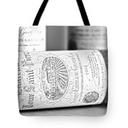 1994 Grand Cru Tote Bag by Nomad Art And  Design