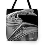 1931 Chevrolet Hood Ornament Tote Bag by Jill Reger