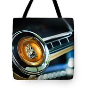 1949 Plymouth P-18 Special Deluxe Convertible Steering Wheel Emblem Tote Bag by Jill Reger