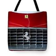 1960 Ferrari 250 GT SWB Berlinetta Competizione Grille Emblem Tote Bag by Jill Reger