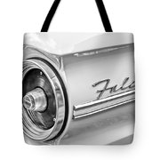 1963 Ford Falcon Futura Convertible Taillight Emblem Tote Bag by Jill Reger
