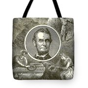 Abraham Lincoln Tote Bag by English School