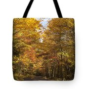 Autumn Drive Tote Bag by Andrew Soundarajan