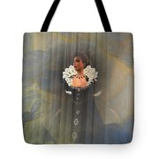 Behind The Veil Tote Bag by Kylie Sabra