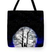 Black Cat On Tree Tote Bag by Nina Ficur Feenan