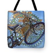 Bsa Parabike Tote Bag by Mark Howard Jones